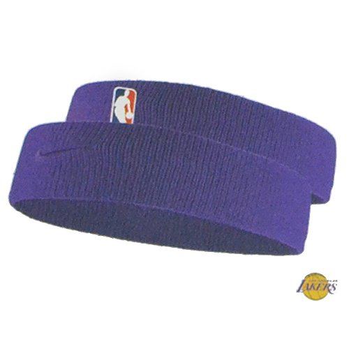 0787075145e NIKE Elite Headband NBA Lakers Dri Fit Headband One Size