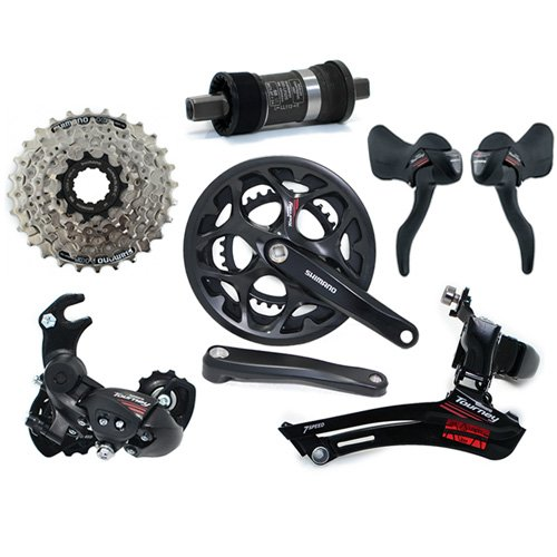 Fast Shipping Shimano Tourney A070 Road 2 X 7 Speed