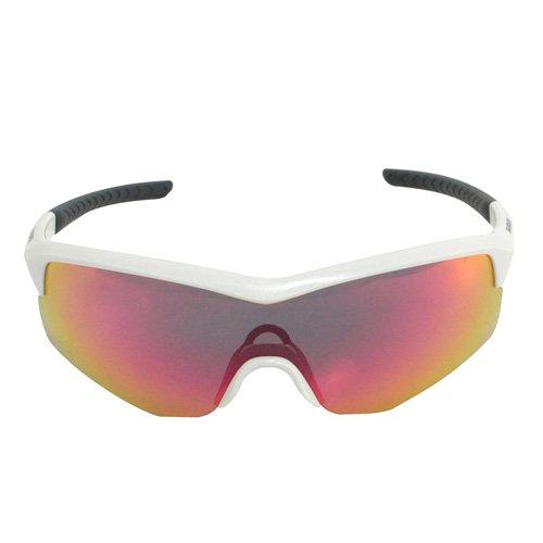 SPARK CE-SPRK1 One Piece Cycling Sunglasses Metallic White Shimano Eyewear