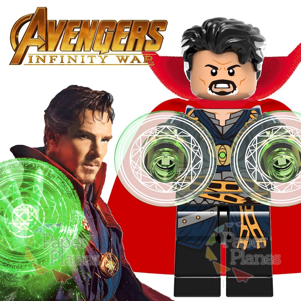 Doctor Strange Custom Minifigure MOC Lego Avengers Infinity War X825