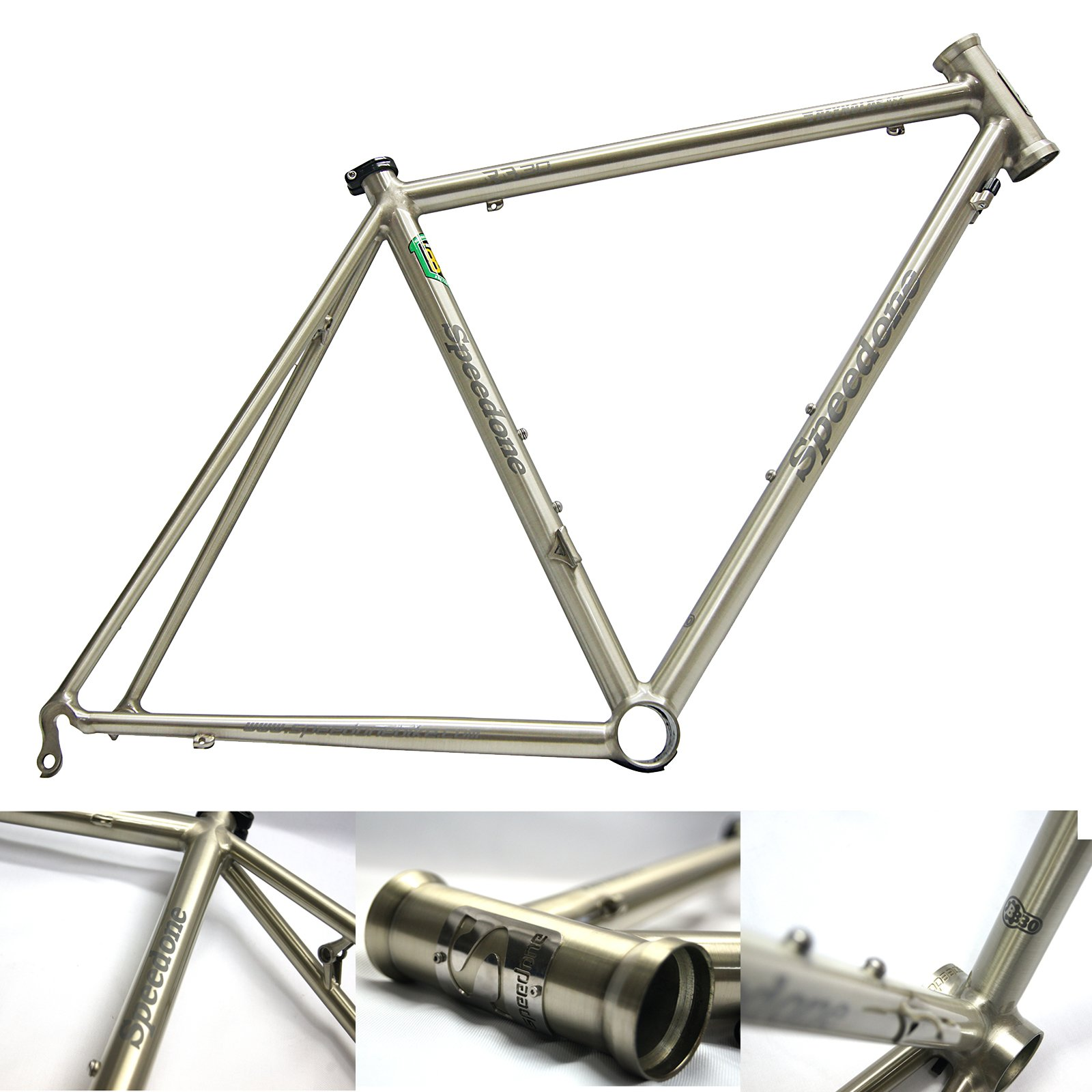 Speedone RB30 Road Bike Steel Frame Reynolds 853 Fillet Brazing 700C ...