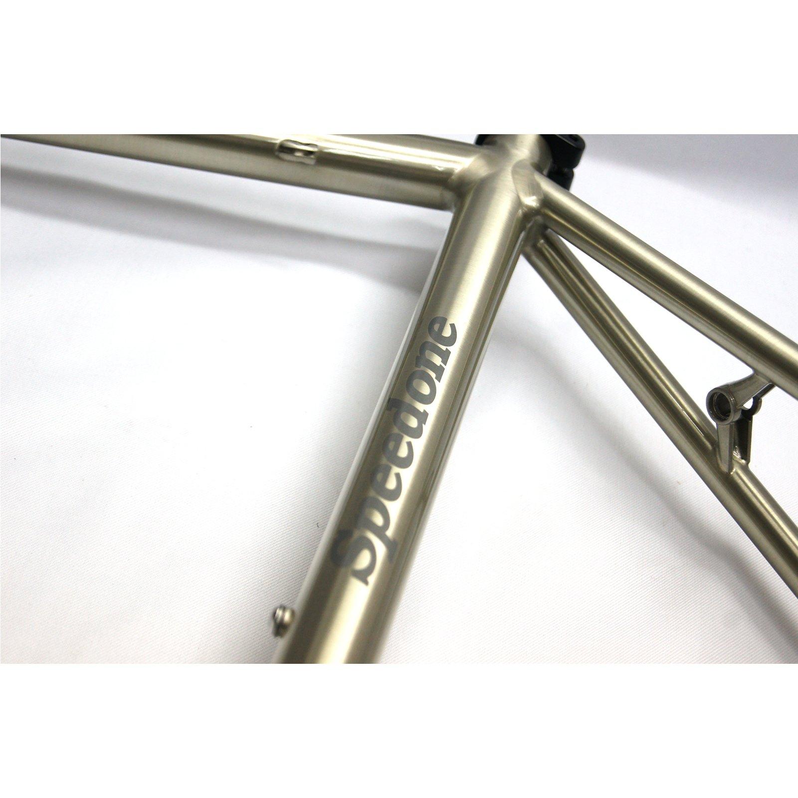 Speedone RB30 Road Bike Steel Frame Reynolds 853 Fillet Brazing 700C ...