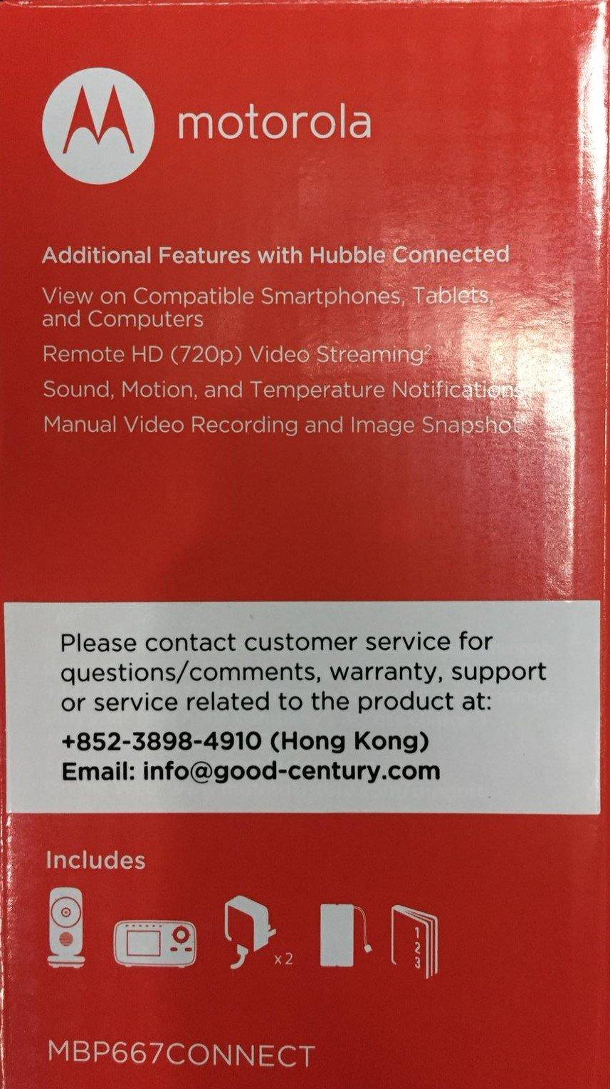 Details about Motorola MBP667 CONNECT 2 8