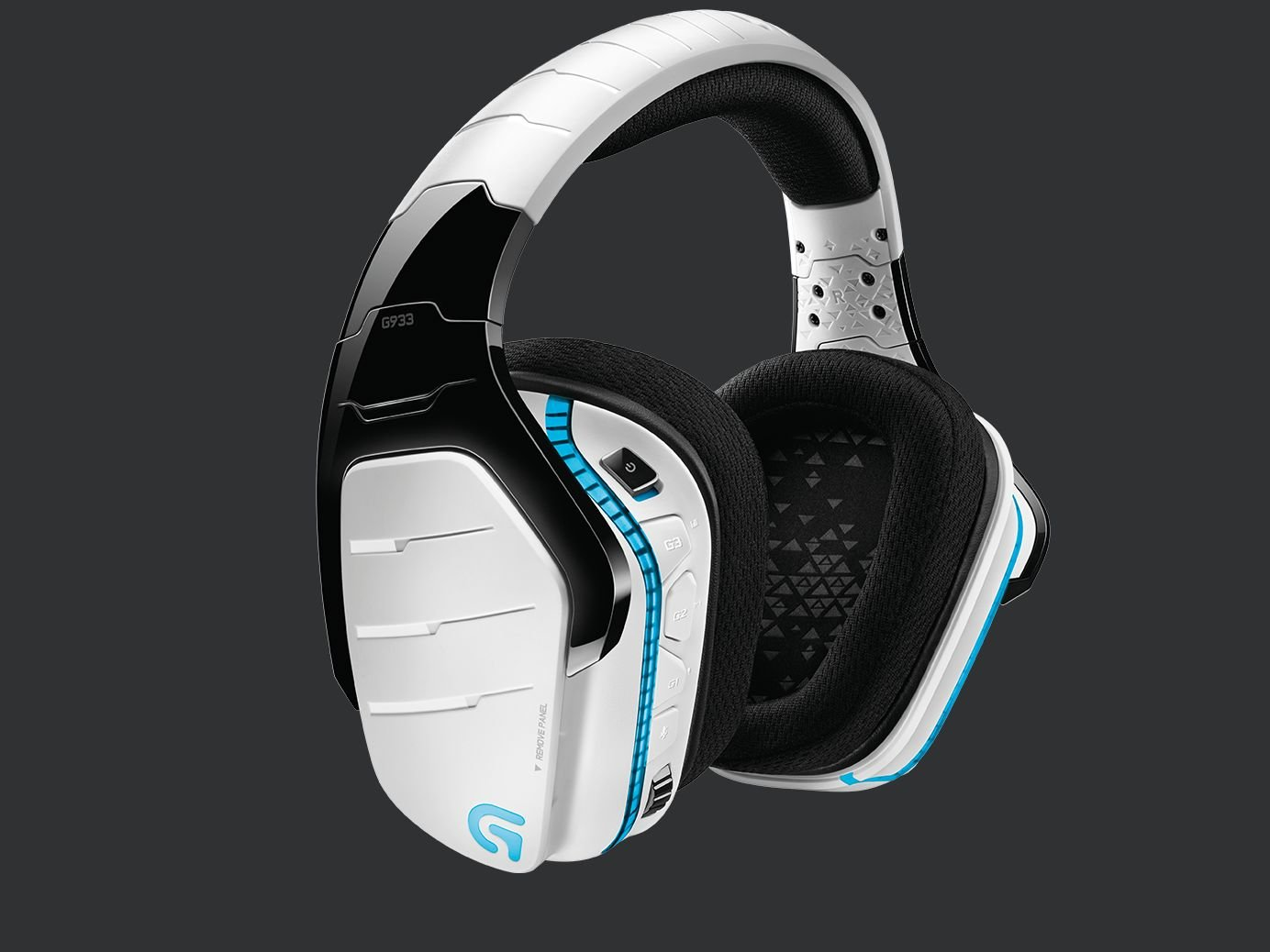 c516044d933 Details about NEW LOGITECH G933 ARETEMIS SPECTRUM SNOW White Wireless 7.1  PRO Gaming Headset
