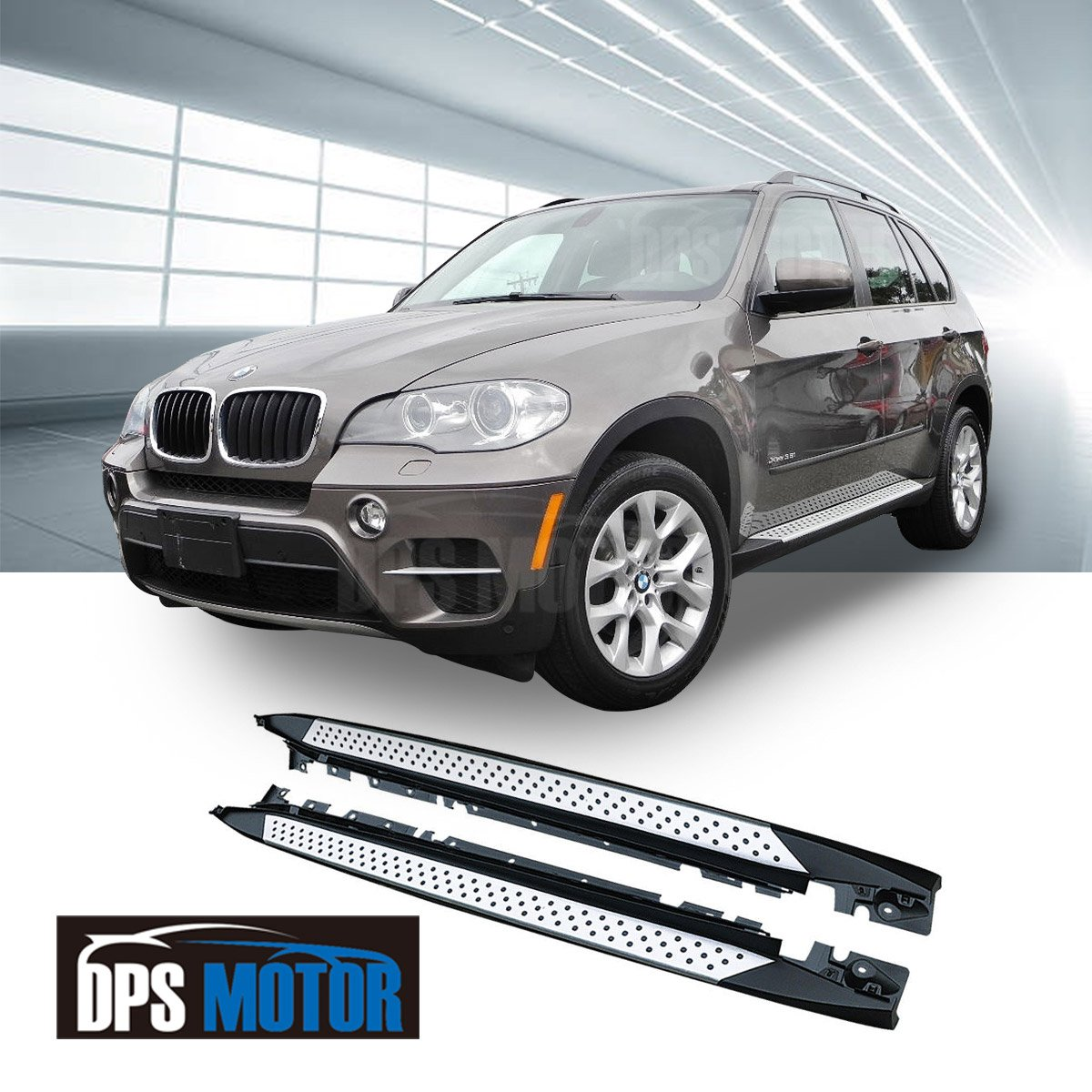 2008 And X5 And Bmw And Nerf And Running Board: For 07-13 BMW E70 X5 OE Factory Style Aluminum Running
