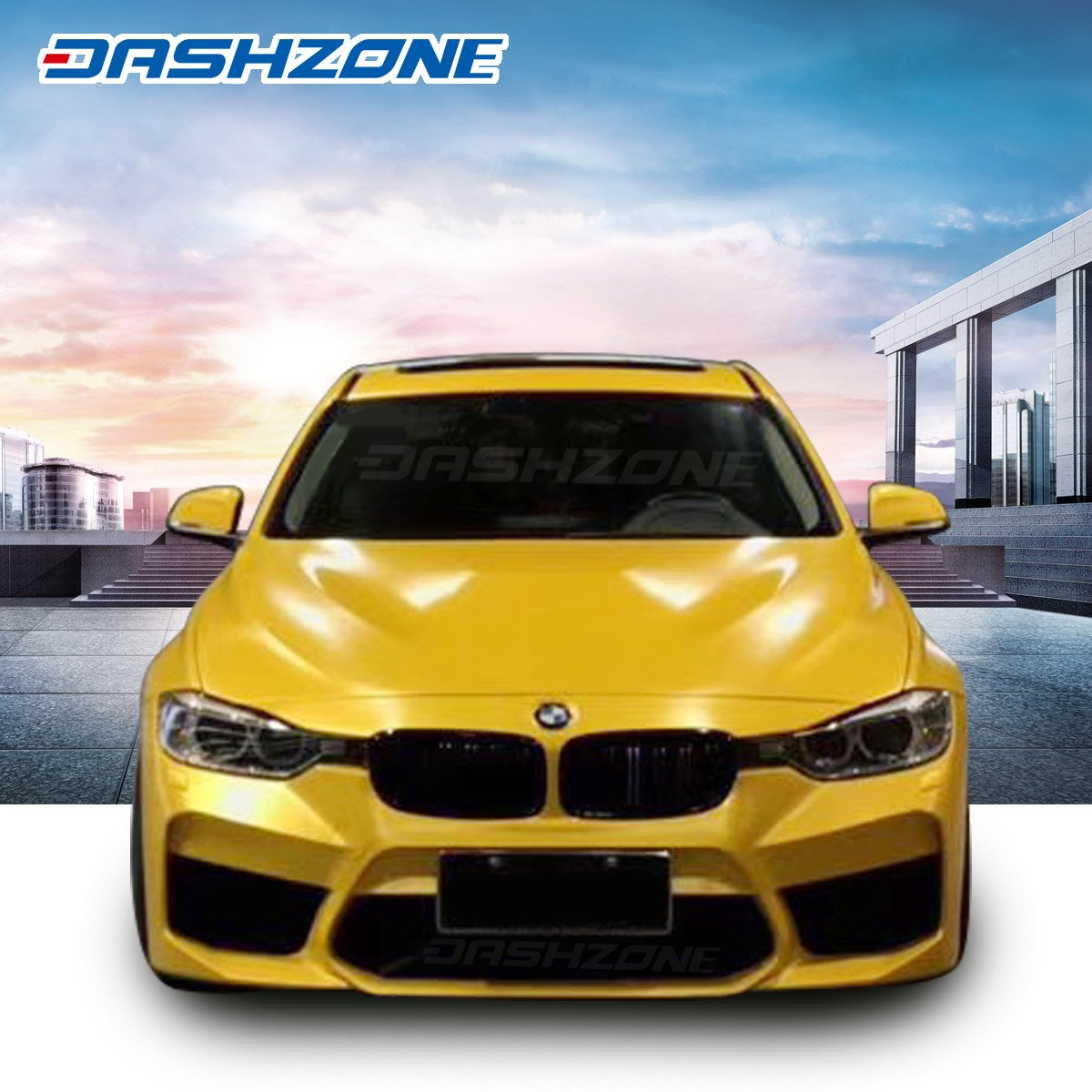 Details About Gmr Front Bumper Body Kits Lip Spoiler Fit 2012 2018 Bmw F30 F31 3 Series 4d
