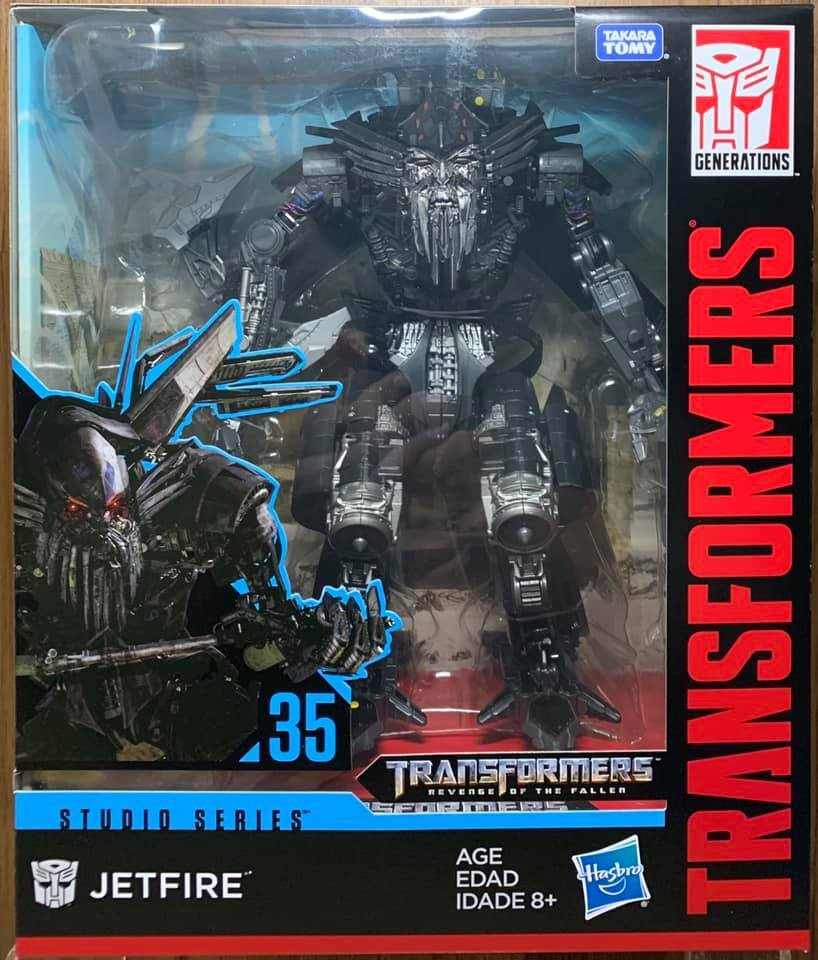 Jetfire New Hasbro Transformers Studio Series #34+#35 Leader Class Megatron