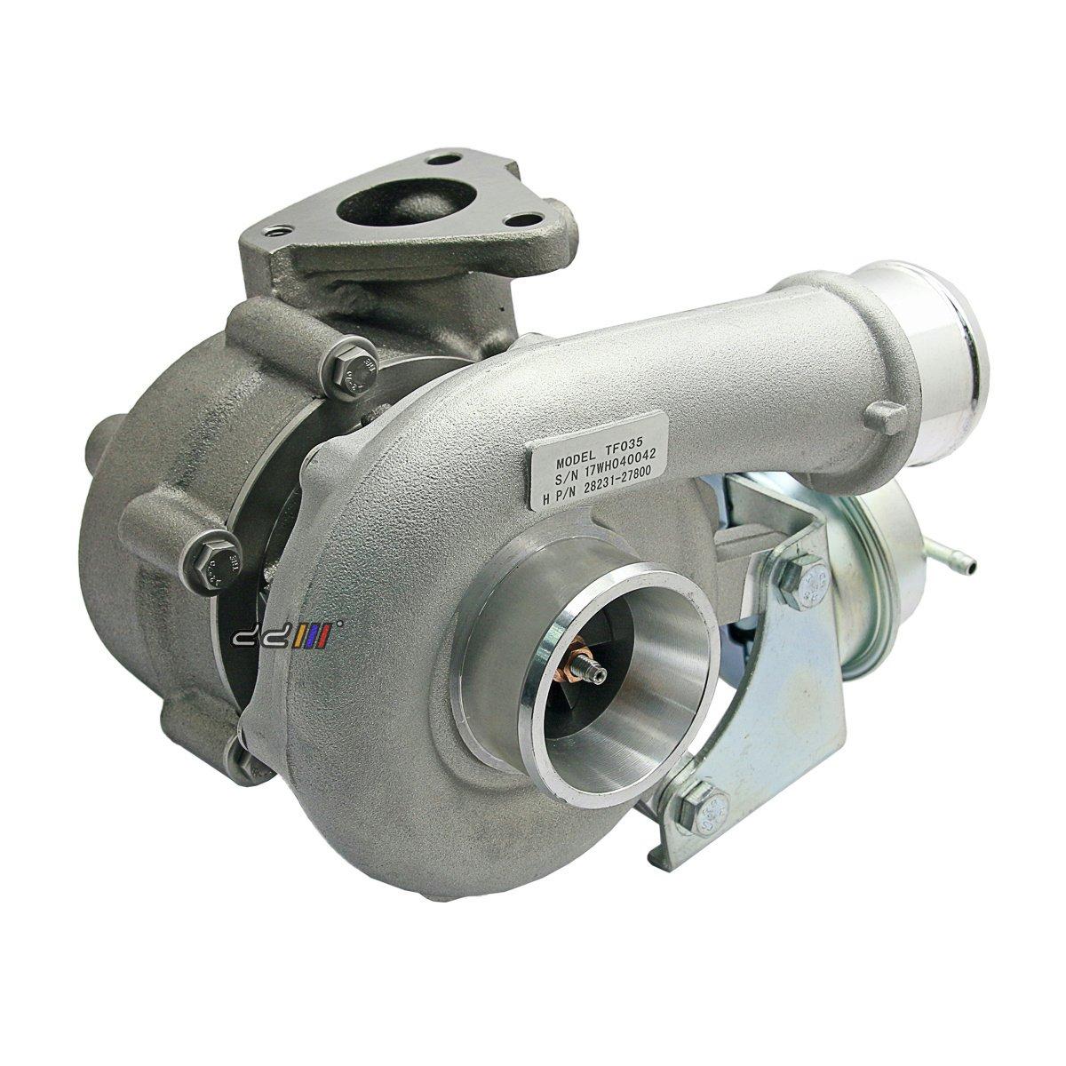 Turbo Turbocharger For Hyundai Sante Fe 2 2l Crdi D4eb 150hp Tf035 28231 27800 Ebay