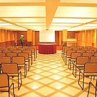 image of Banquet Hall at Kamat Lingapur Hotel ac banquet hall at begumpet, hyderabad