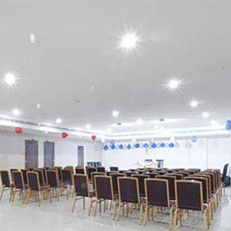 image of Banquet Hall at Hotel Sandarshini Inn ac banquet hall at koti, hyderabad
