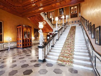 image of Banquet Hall at Taj Falaknuma Palace ac banquet hall at falaknuma, hyderabad