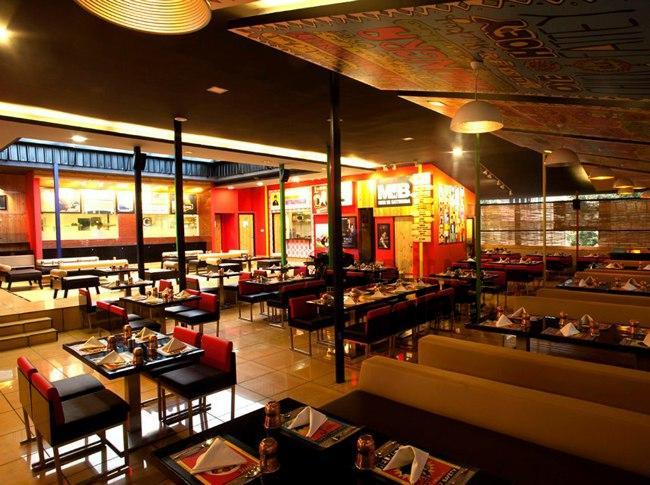 Banquet at oye amritsar indiranagar for Terrace restaurants in bangalore