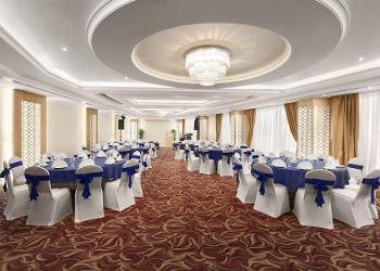image of Banquet Hall at Howard Johnson Bur Dubai ac banquet hall at bur-dubai, dubai