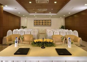 image of Banquet Hall at Majestic Court Sarovar Portico ac banquet hall at Navi Mumbai, mumbai