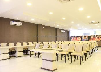 image of Banquet Hall at Sithiq Malaysian Parotta ac banquet hall at medavakkam, chennai