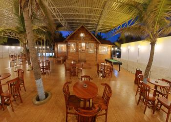 image of Banquet Hall at Blue Bay Resort ECR ac banquet hall at east-coast-road, chennai