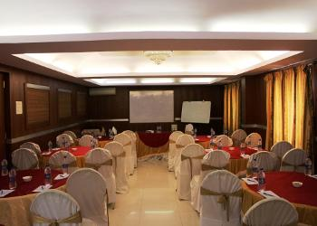 image of Banquet Hall at Golden Metro Hotel Seshadripuram ac banquet hall at majestic, bangalore