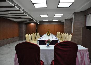 image of Banquet Hall at Hotel Shelter Mylapore ac banquet hall at mylapore, chennai