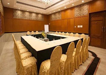 image of JP Hotel Banquet Hall Koyambedu ac banquet hall at koyambedu, chennai