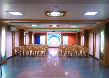image of Party Hall at Kattumaram Velu Miltary Hotel ac banquet hall at arumbakkam, chennai