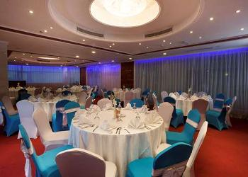 image of Nizwa Banquet Hall at Golden Tulip Al Thanyah ac banquet hall at tecom, dubai