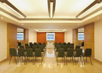 image of Banquet Hall at Radha Hometel Whitefield ac banquet hall at whitefield, bangalore