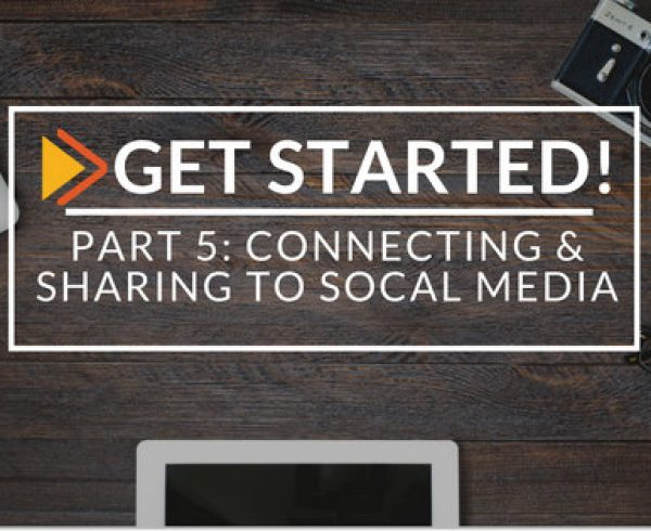 part 5: Connecting & Sharing to social media on waach