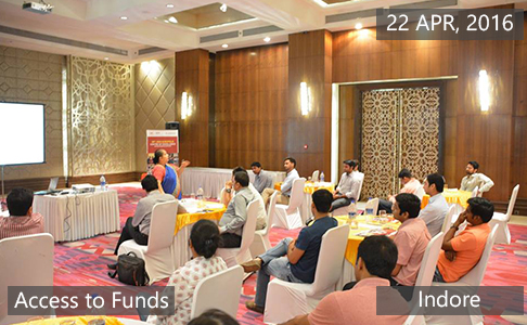 Access to Funds4 April 22th, 2016 - Indore