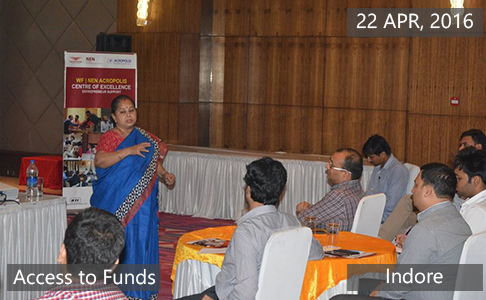 Access to Funds1 April 22th, 2016 - Indore