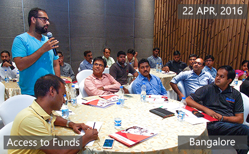 Access to Funds6 April 22th, 2016 - Bangalore