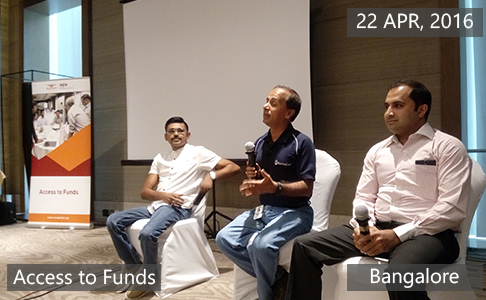 Access to Funds5 April 22th, 2016 - Bangalore