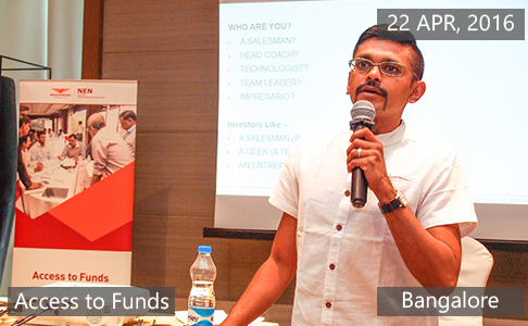 Access to Funds4 April 22th, 2016 - Bangalore