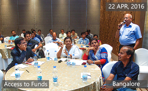Access to Funds2 April 22th, 2016 - Bangalore