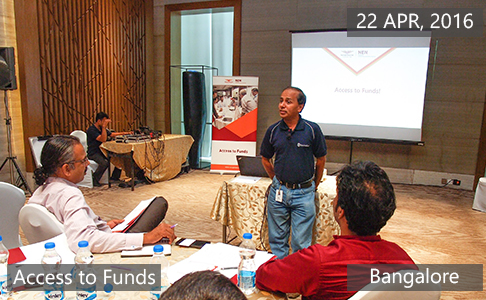 Access to Funds1 April 22th, 2016 - Bangalore