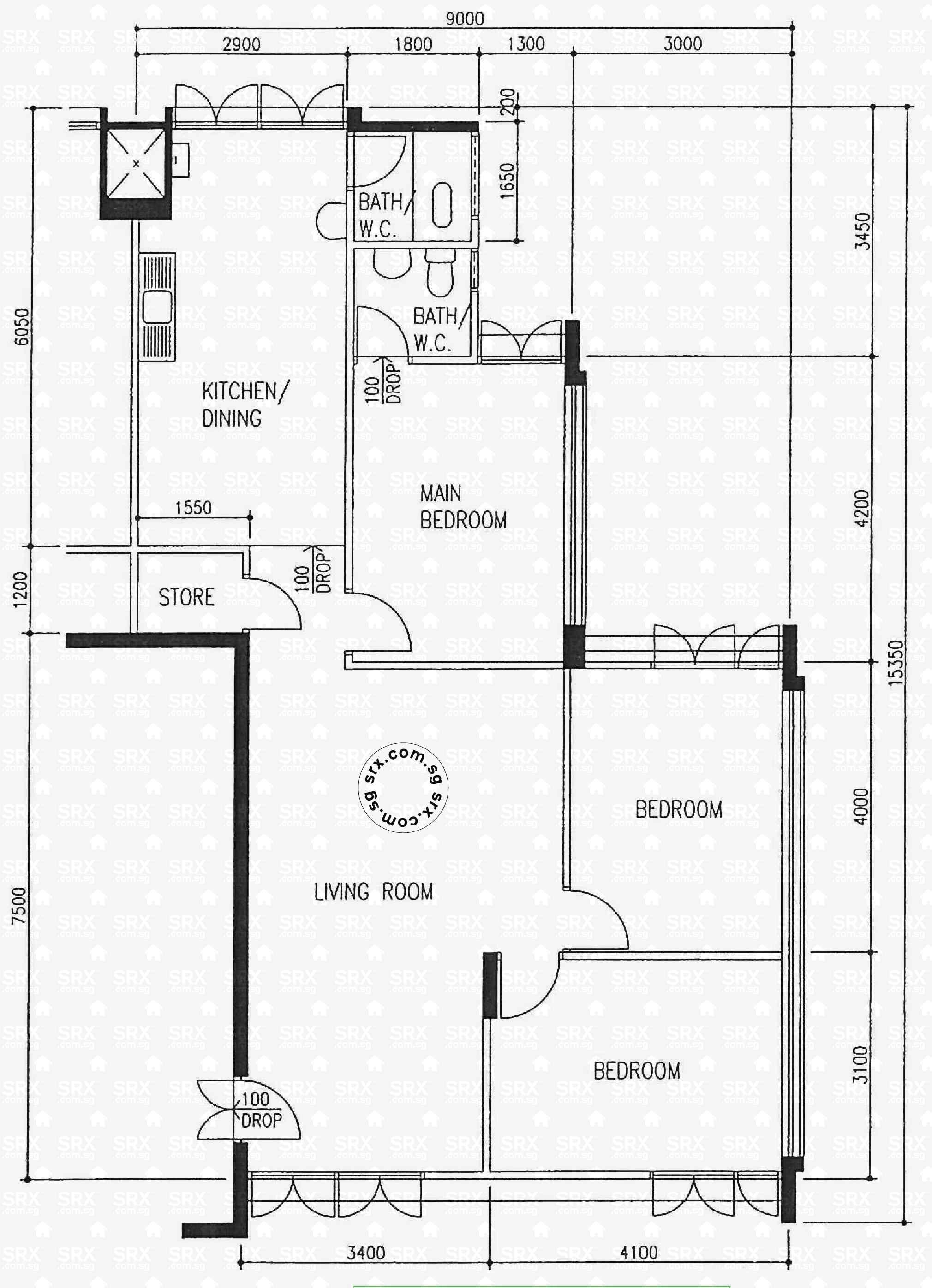 543 ang mo kio avenue 10  s 560543 hdb details