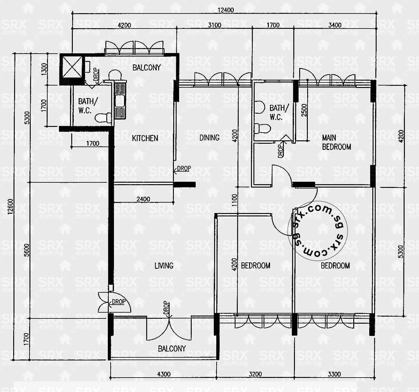 Floor Plans For Anchorvale Link Hdb Details Srx Property - purchase ...