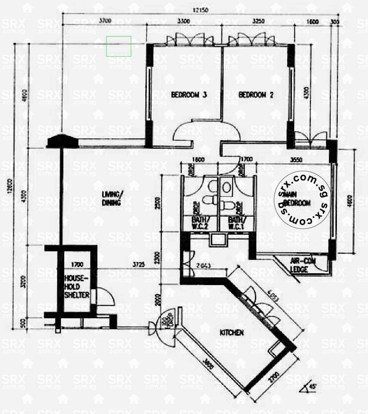 Bedok North Road Floor Plan Image #1