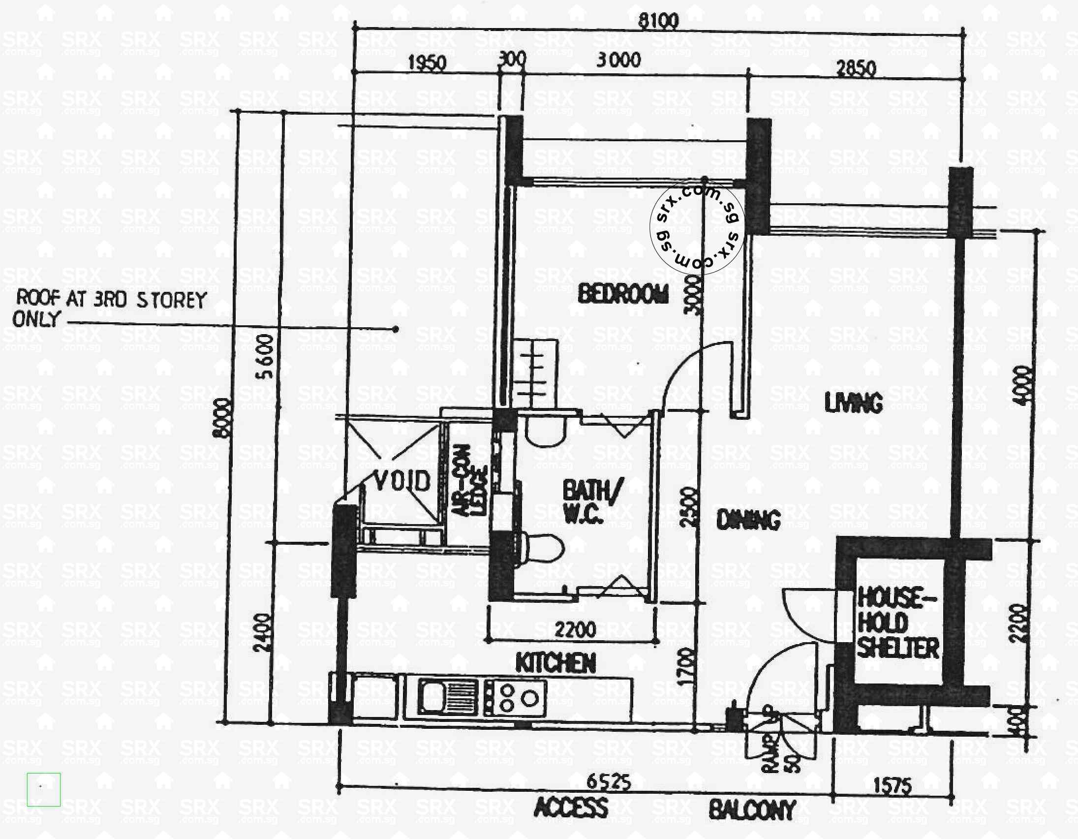 Bedok North Street 3 Floor Plan Image #1