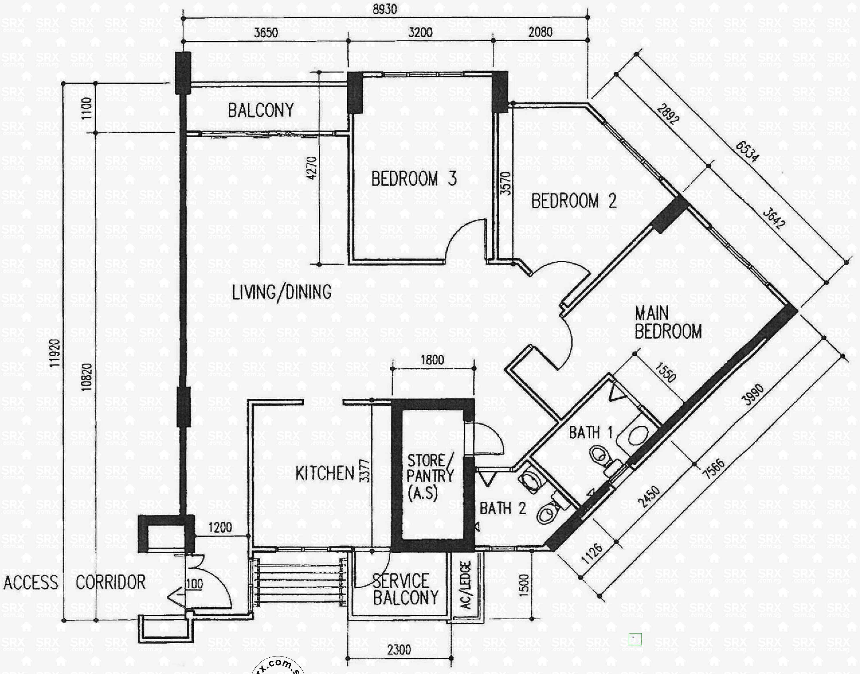 765 bedok reservoir view s 470765 hdb details srx property for 770 plan