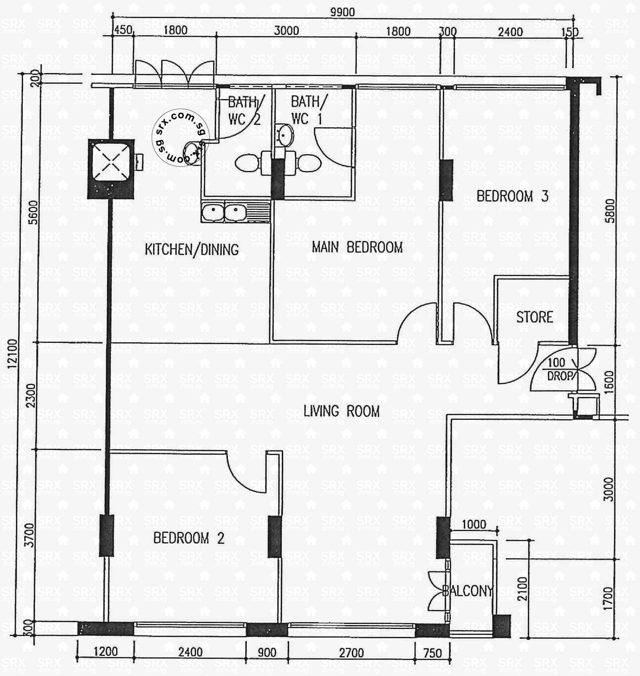 bishan street 23 hdb details srx property