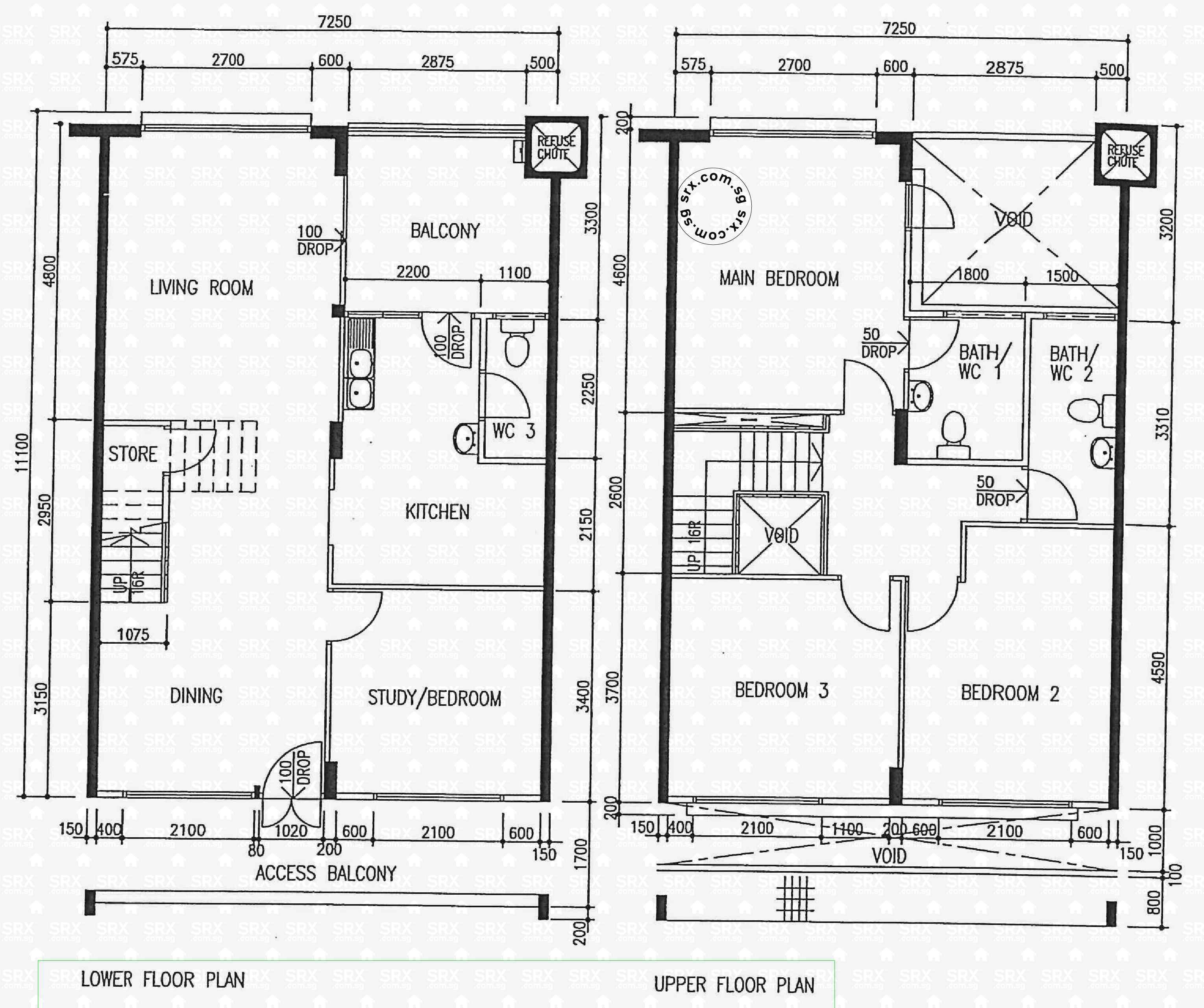 floor plans for bishan street 22 hdb details srx property