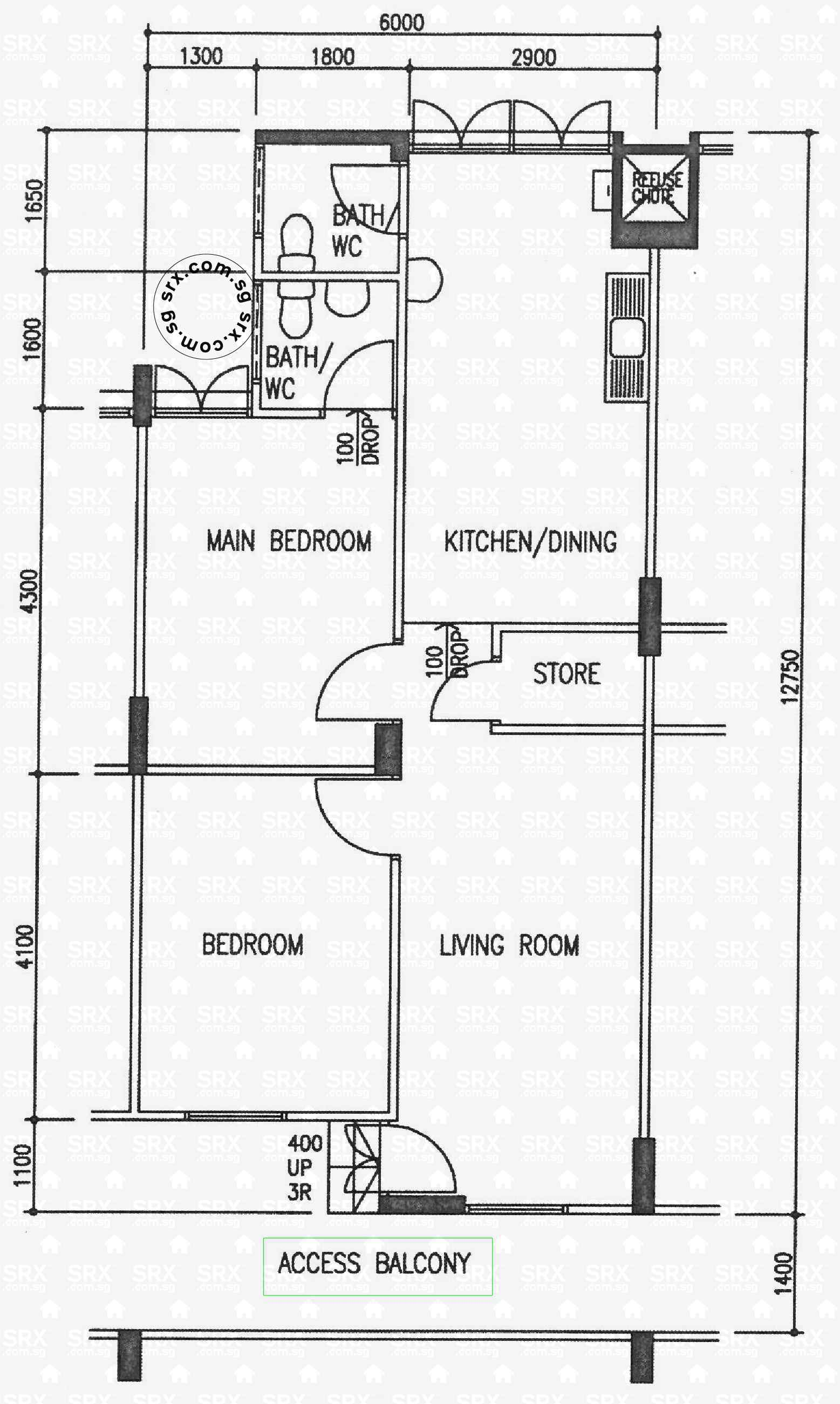 Floor Plans For Ghim Moh Link S Hdb Details Srx Property - purchase ...