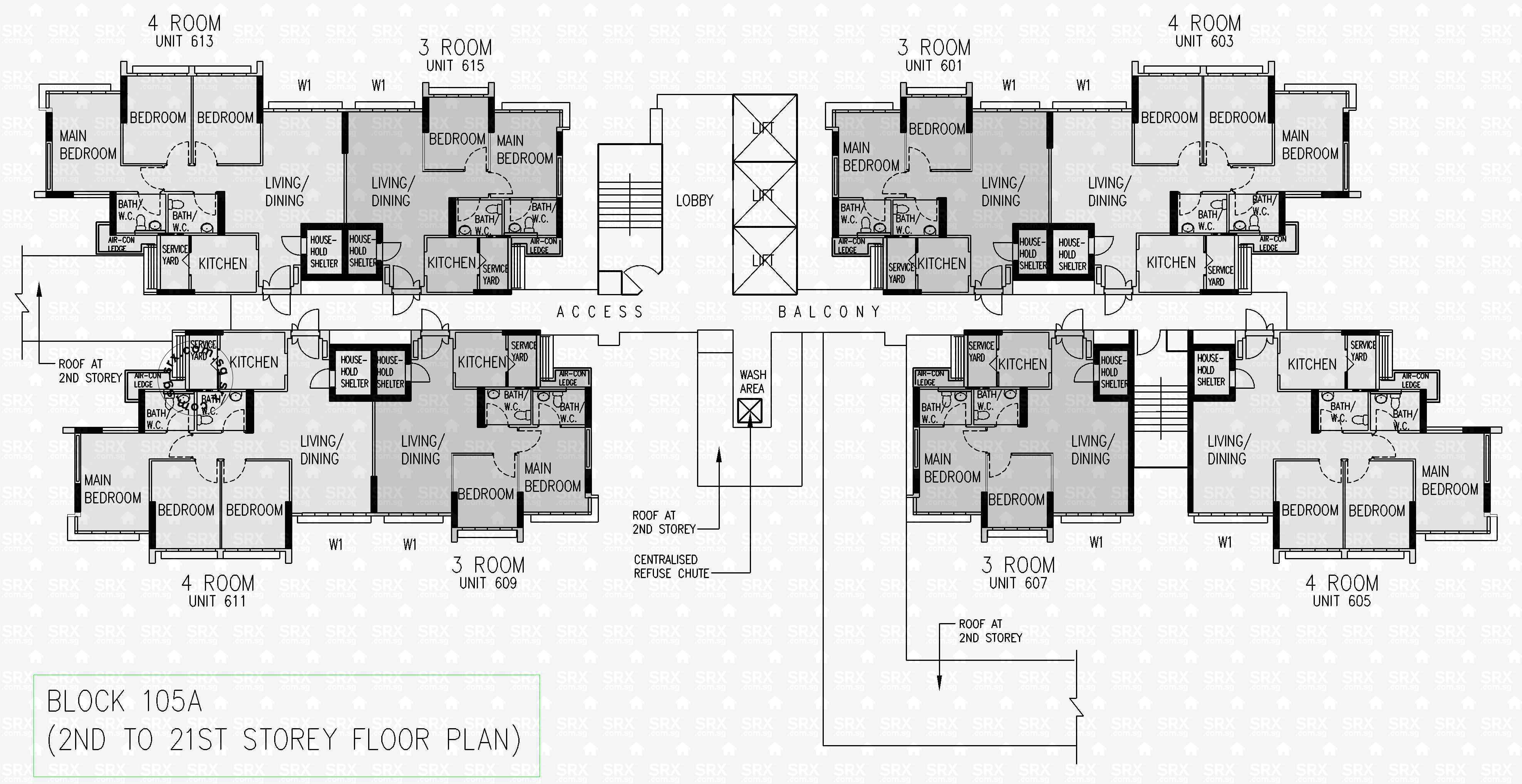 Floor plans for 105a depot road s 101105 hdb details for Floor plans home depot