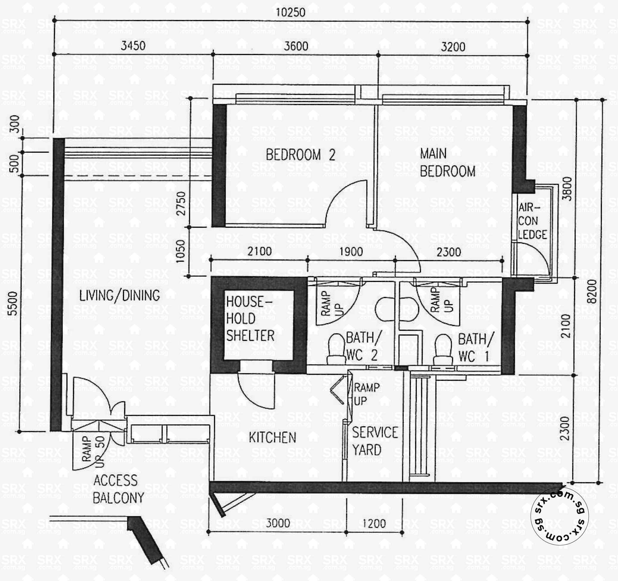 Floor Plans For Havelock Road HDB Details SRX Property - View floor plans