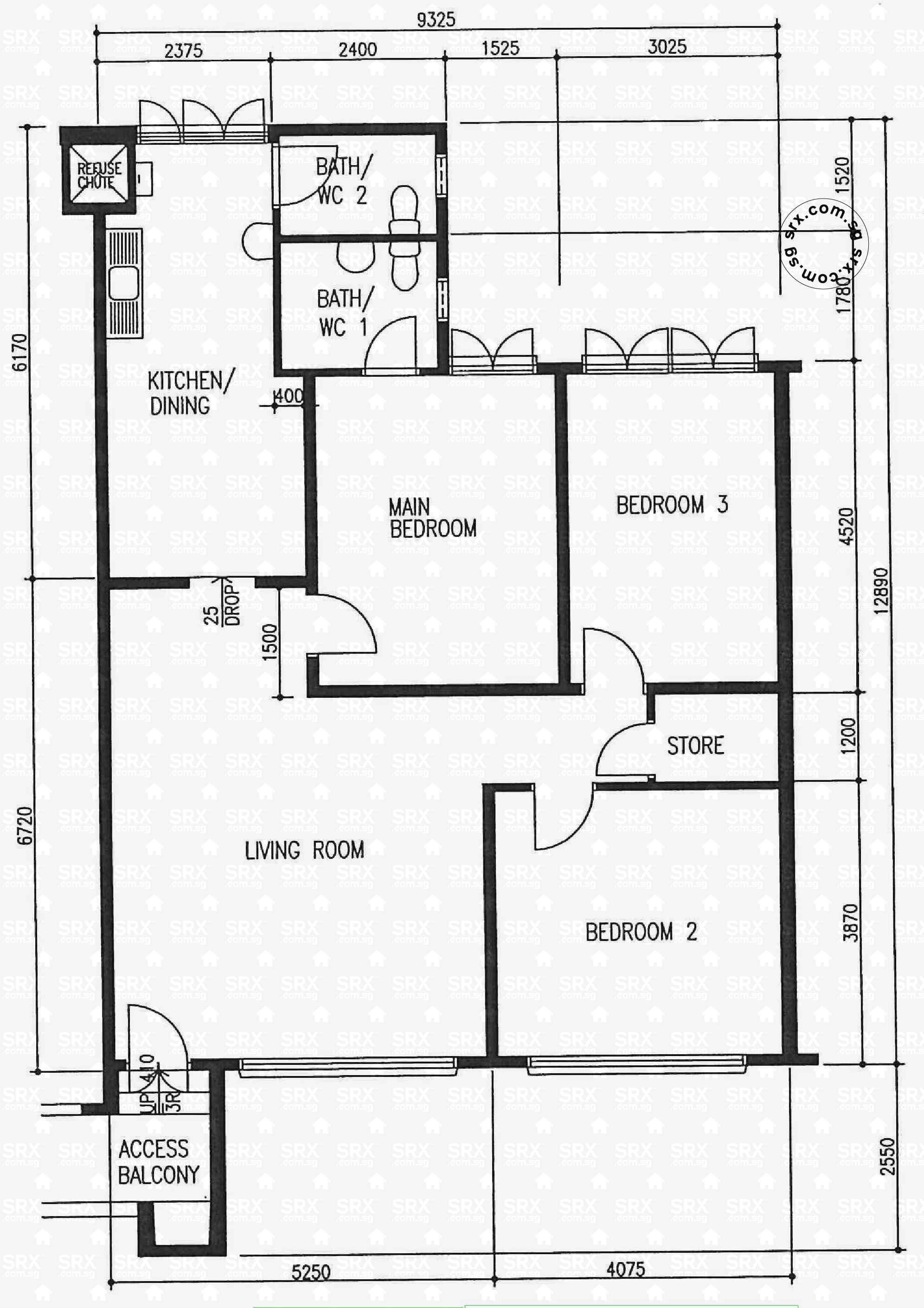 Floor plans for pending road hdb details srx property for 126 simcoe floor plan