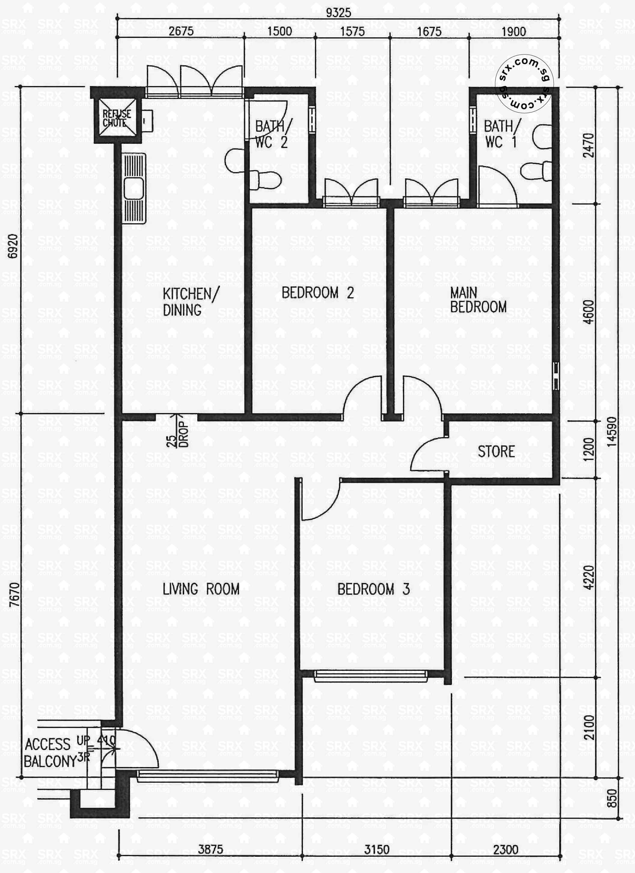 221 pending road s 670221 hdb details srx property for 221 armstrong floor plans