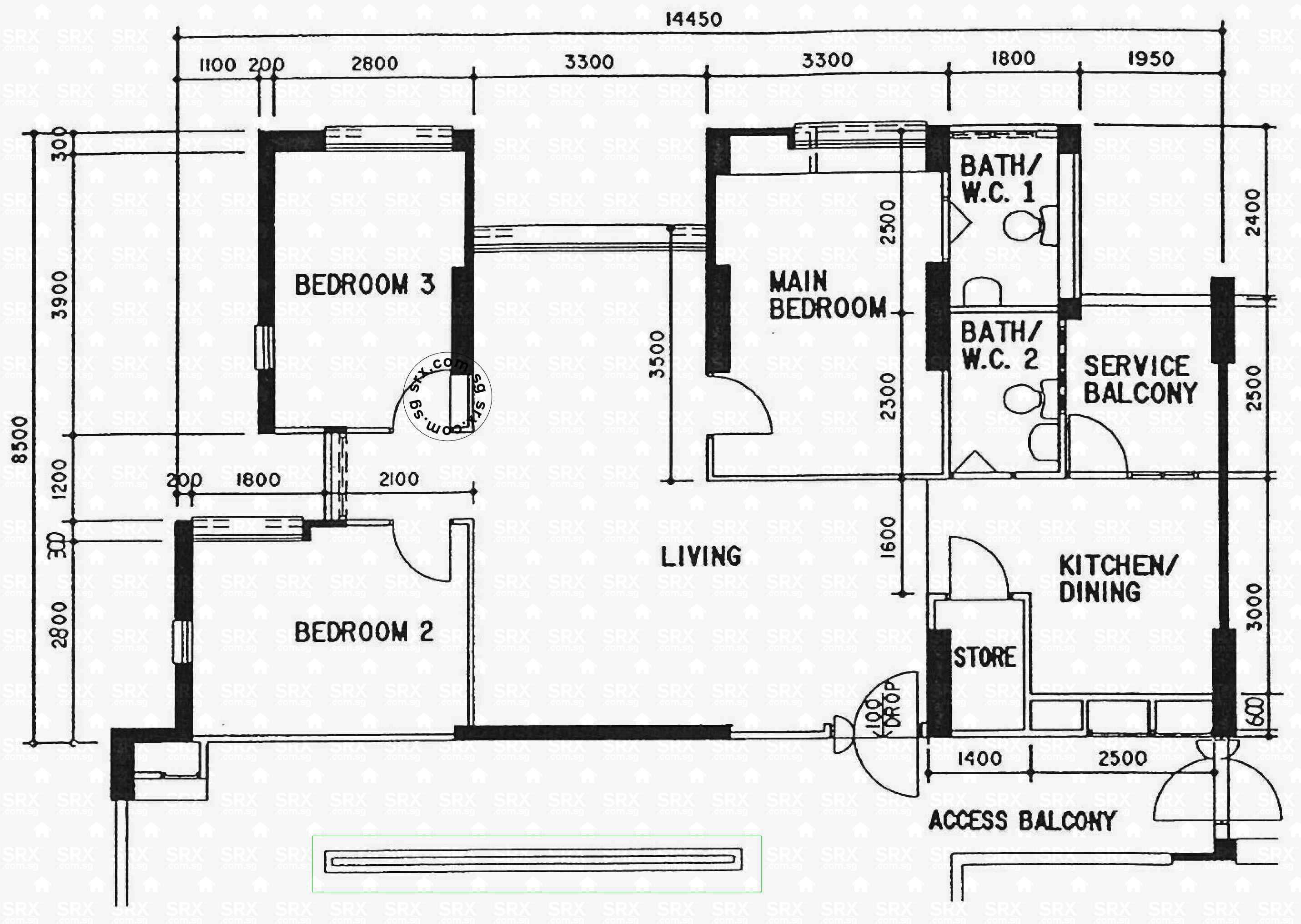 Floor plans for 501 jelapang road s 670501 hdb details for 501 plan