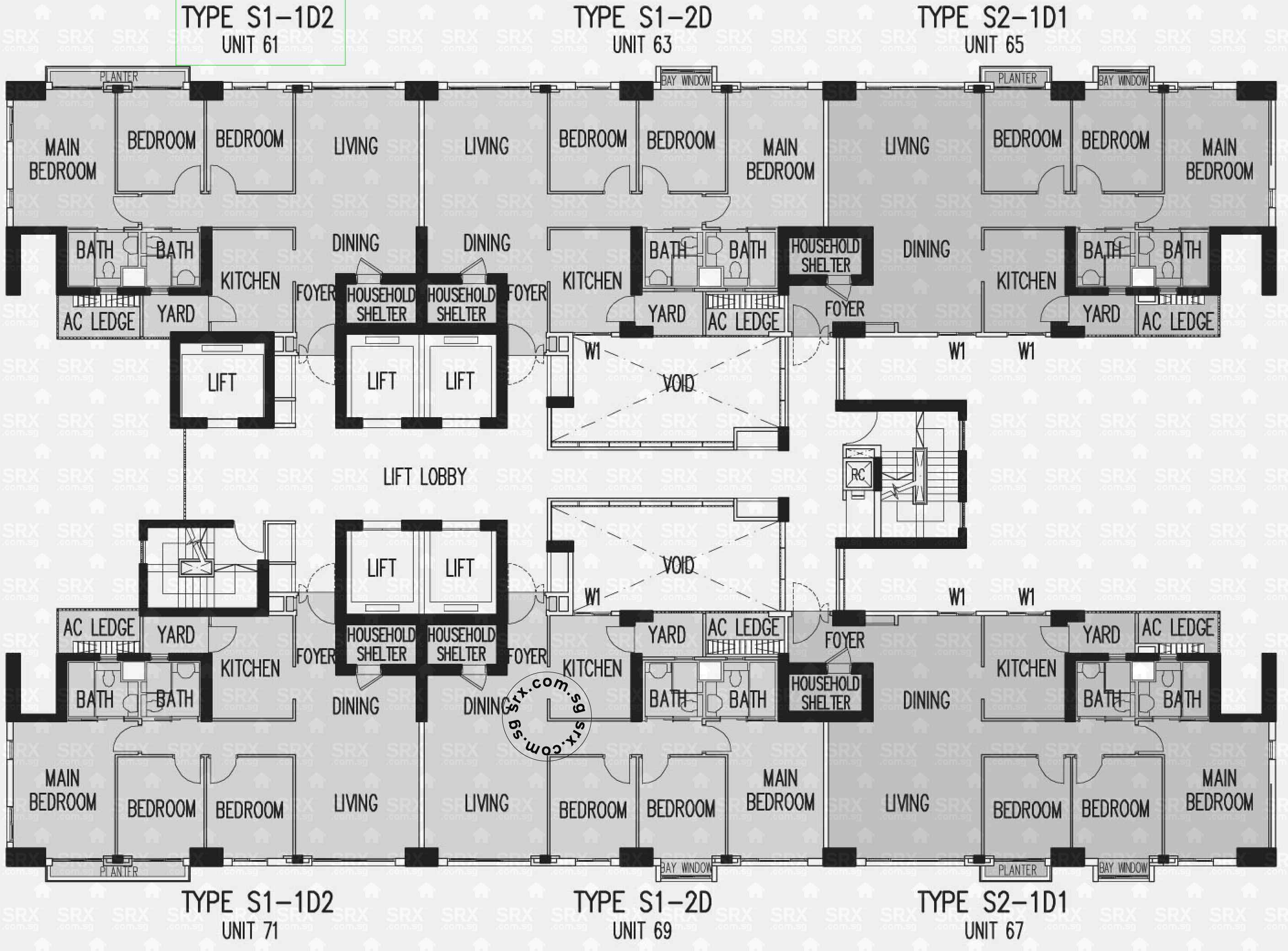floor plans for the pinnacle duxton hdb details srx property