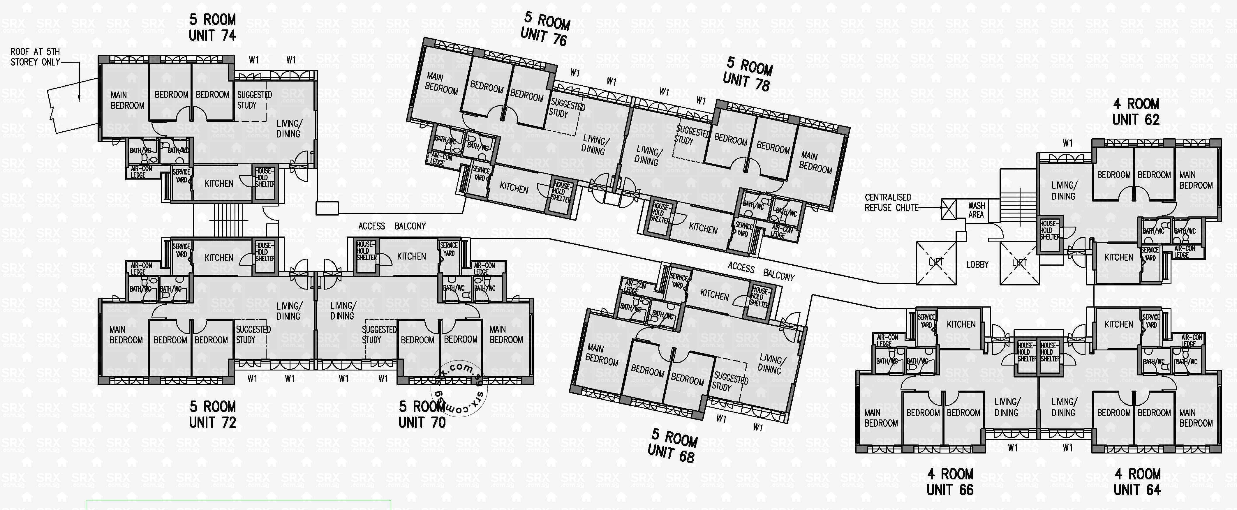 floor plans for keat hong close hdb details