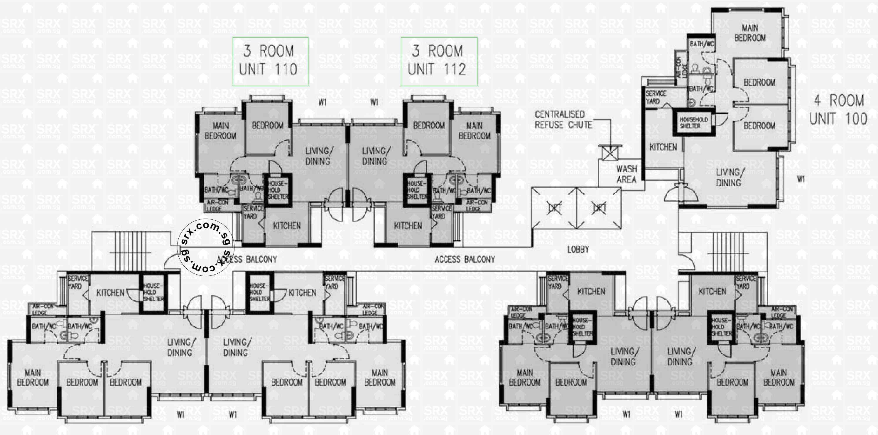 818a choa chu kang avenue 1 s 681818 hdb details srx for 130 n garland floor plan